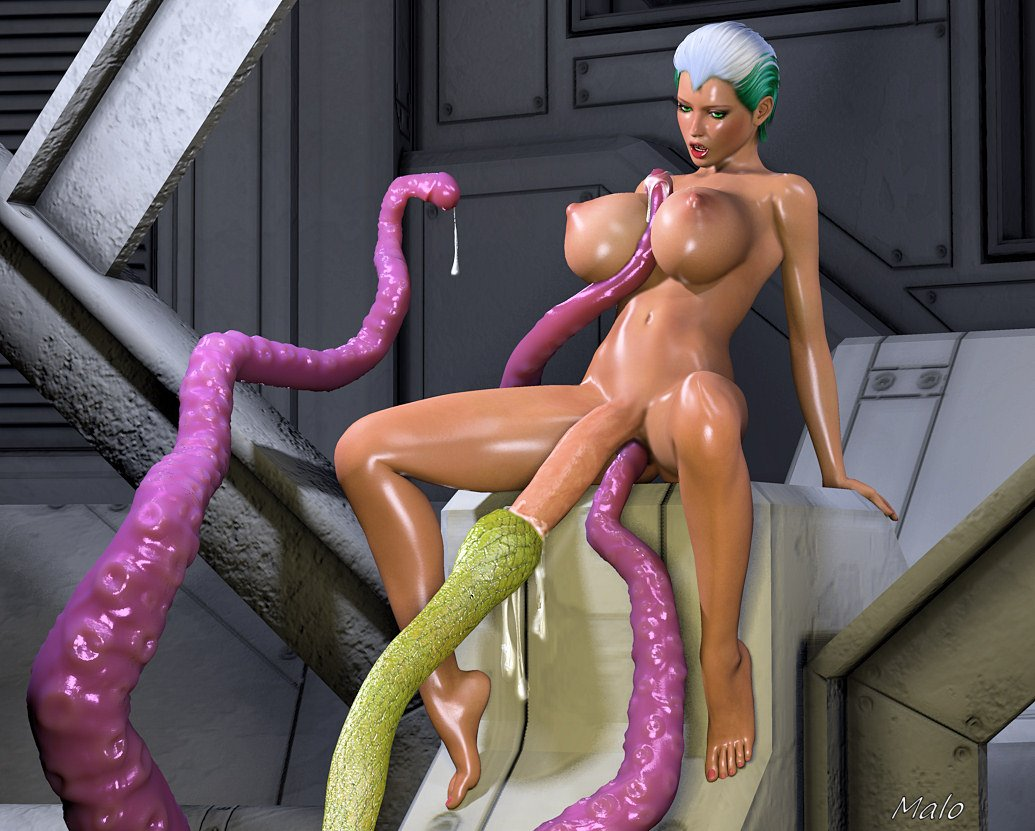 3d tenticle porn she