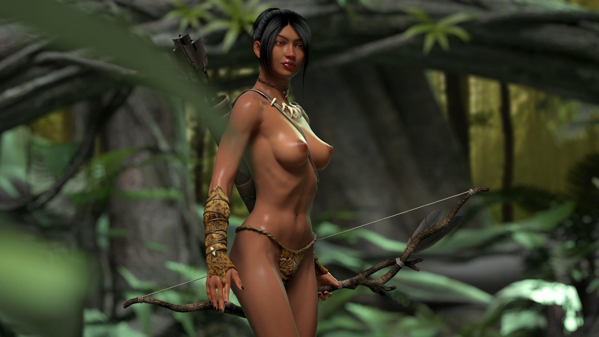 3D amazon seksi nude images