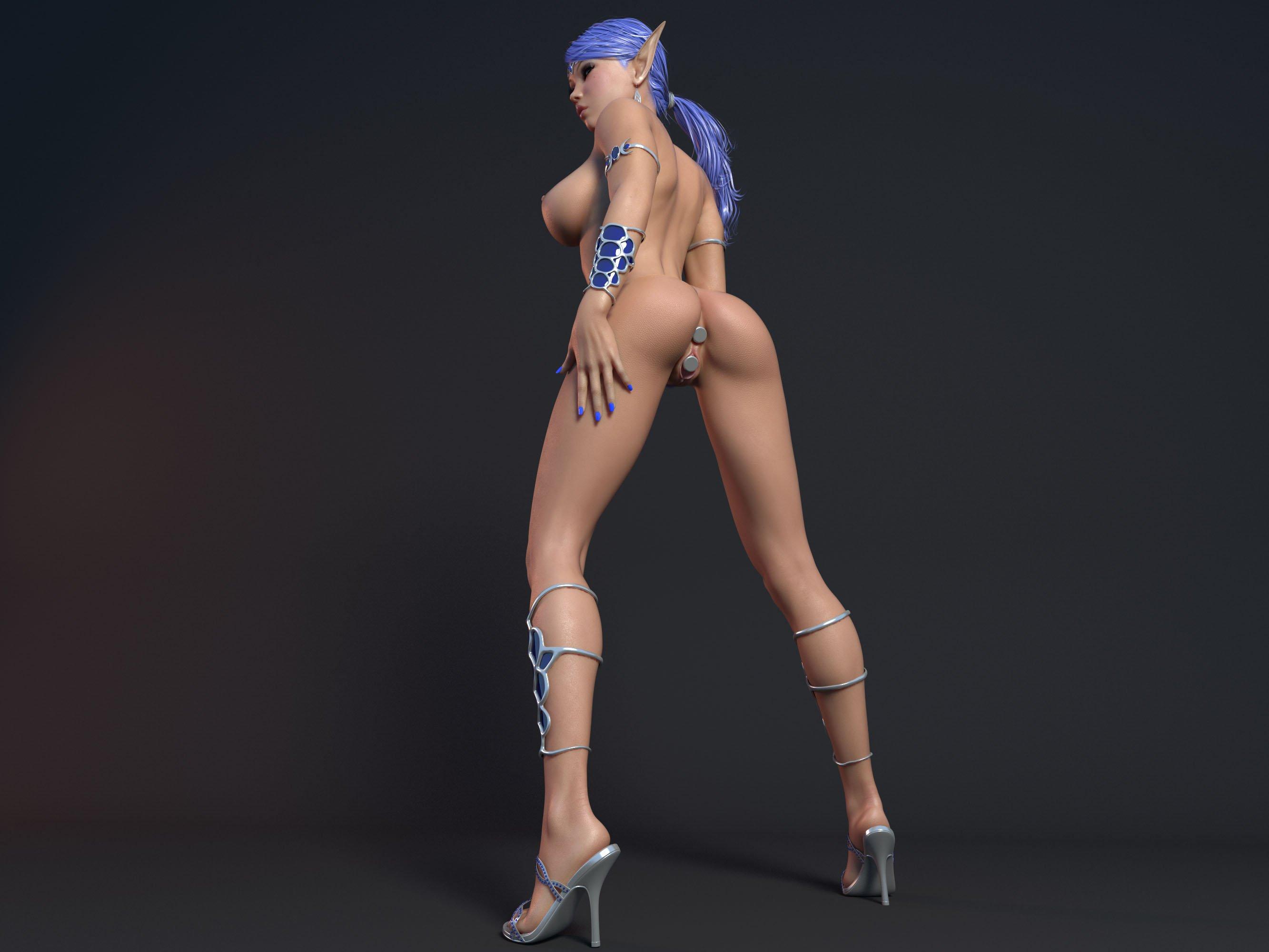 Эротика из 3d игр