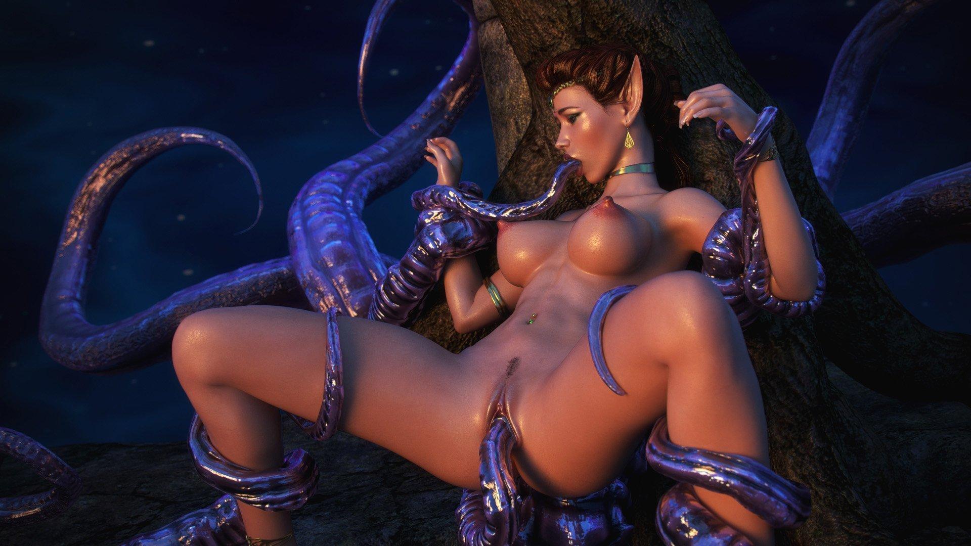 hentai 3d tentacles