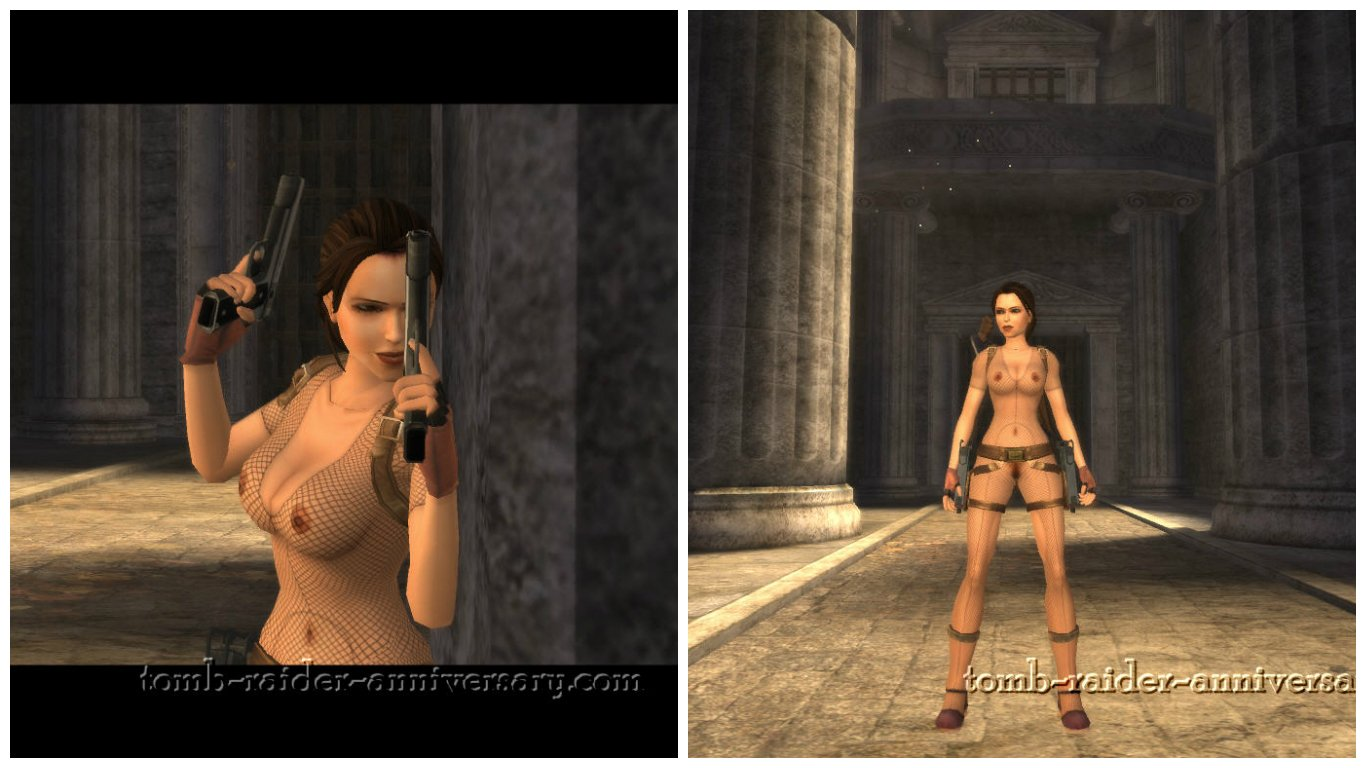 Tomb raider anniversary game striping sex in  fucking movie
