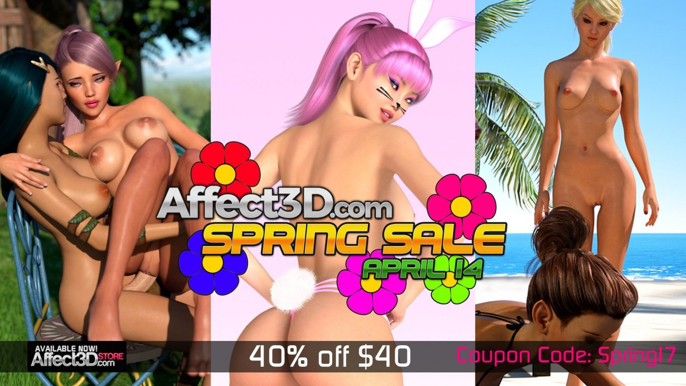 Affect3D Spring Sale! 40% off $40