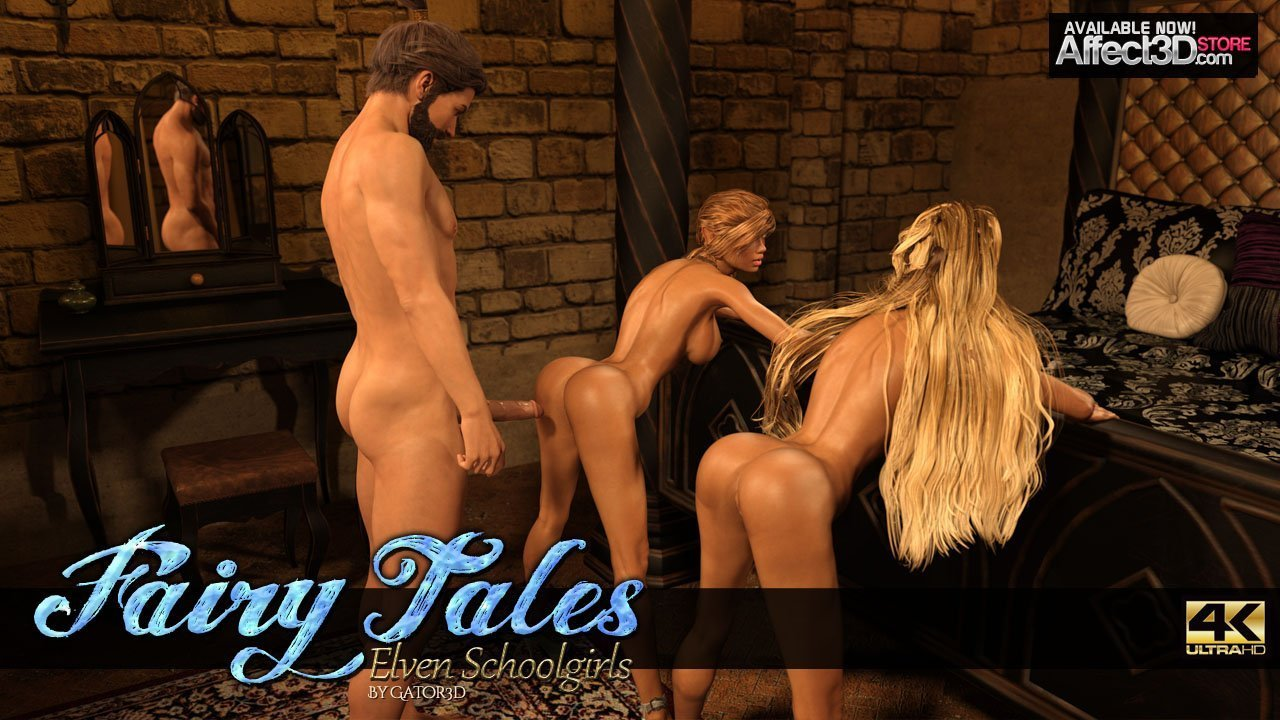 Fairy Tales: Elven Schoolgirls – Available Now!