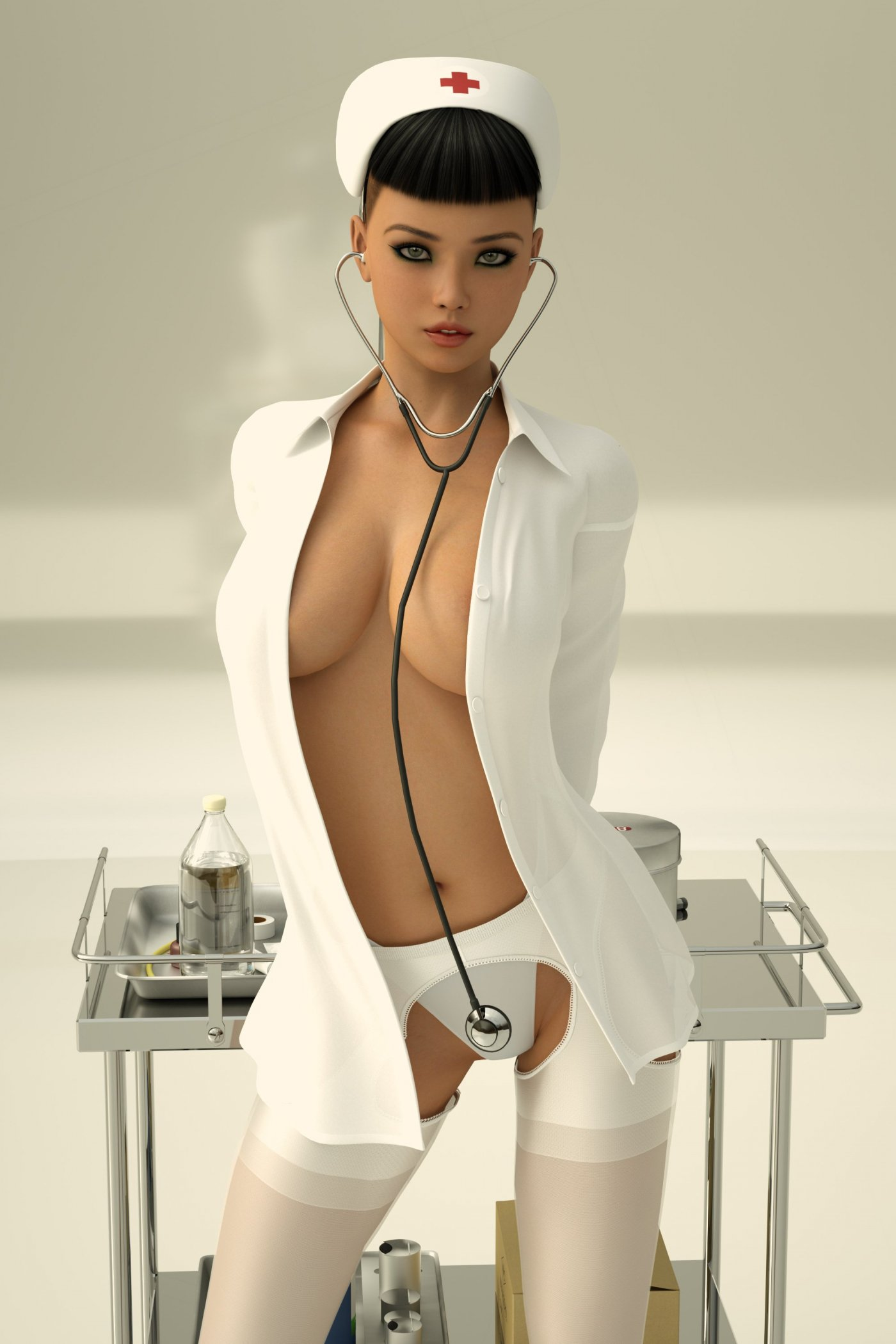 Female Nurses Nude