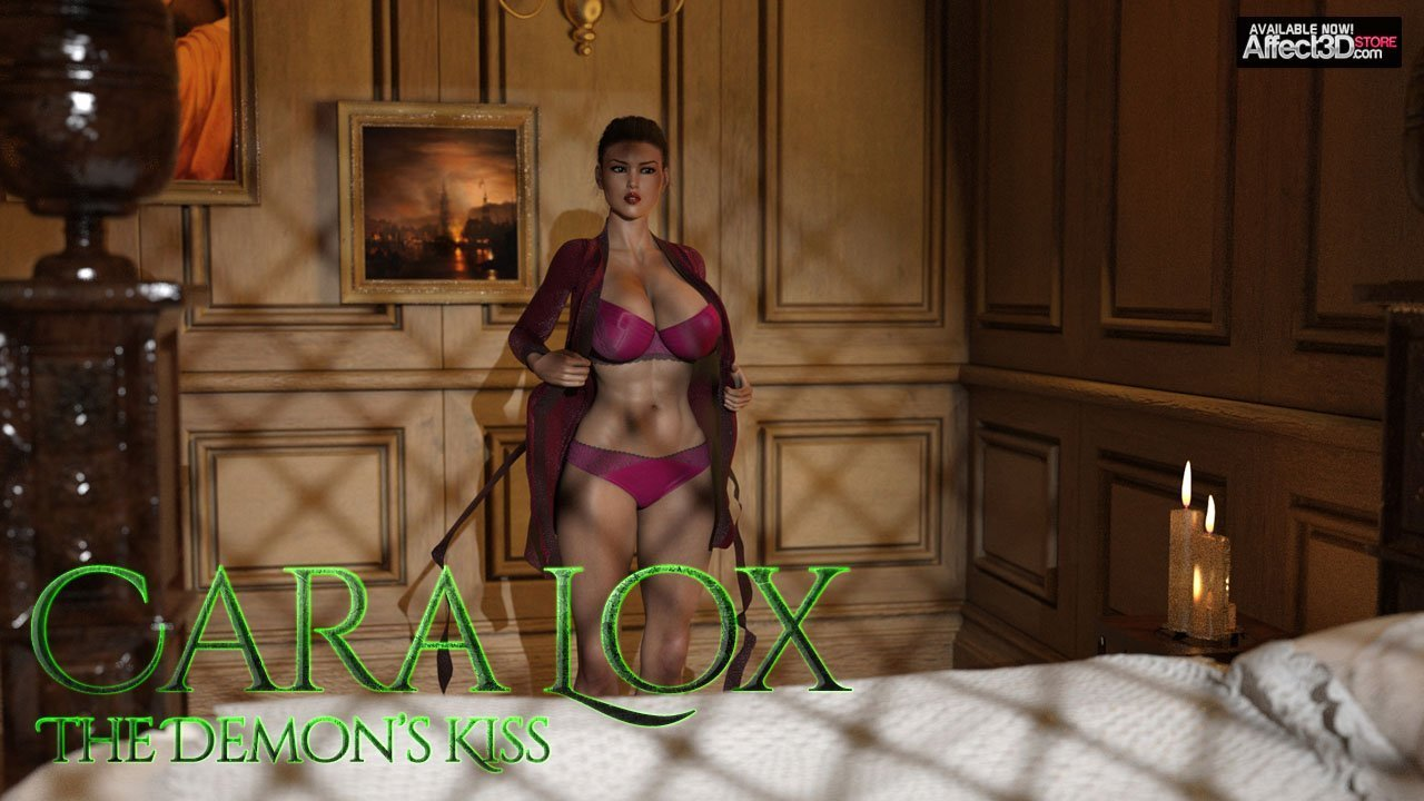 Cara Lox: The Demon's Kiss – Available Now!