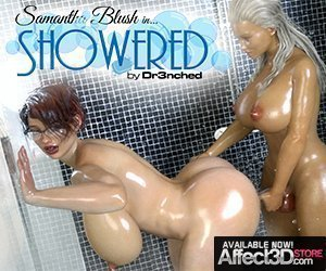 Samantha Blush in Showered dr3nched