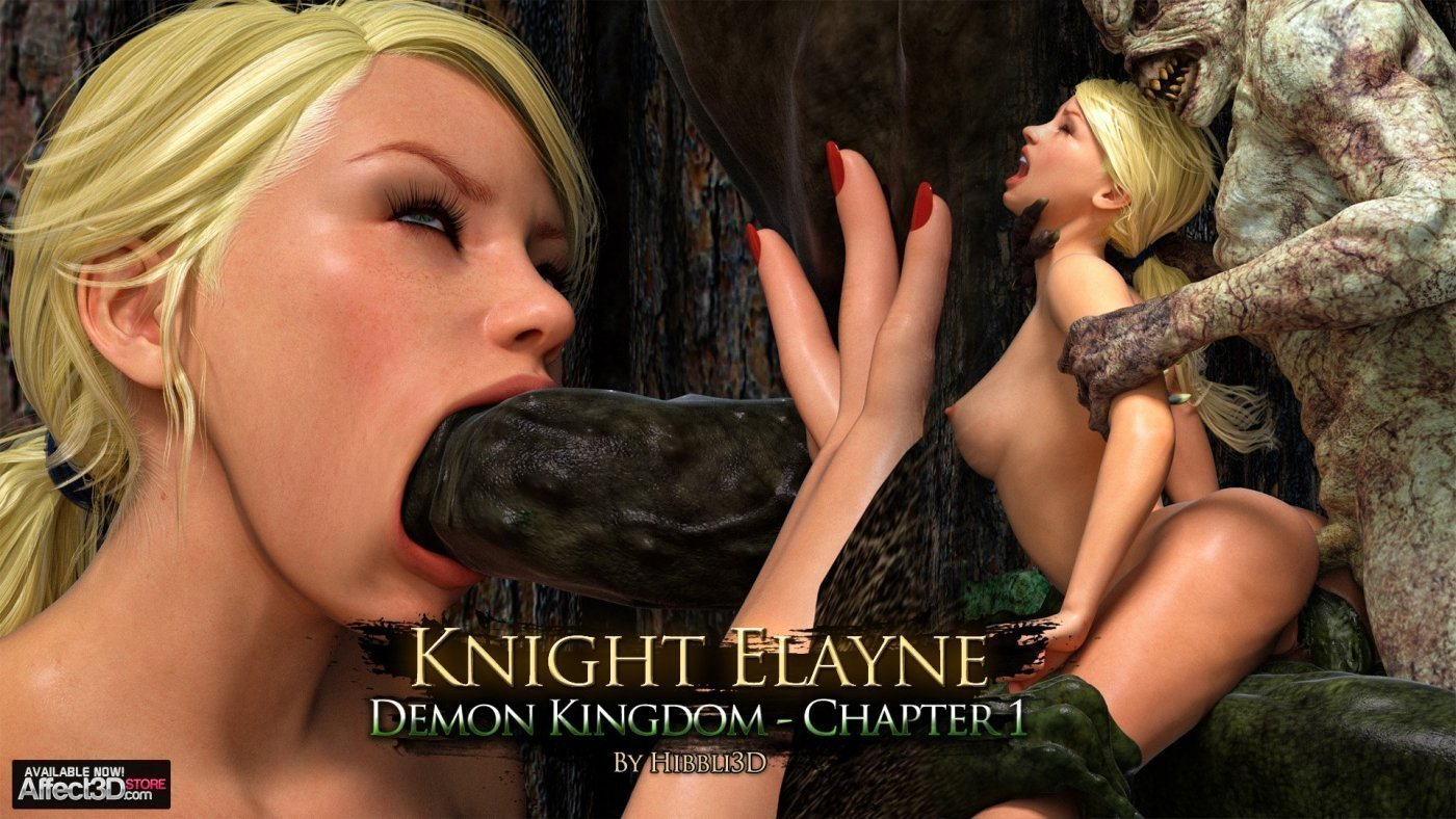 Knight Elayne – Demon Kingdom Chapter 1 – Available Now!