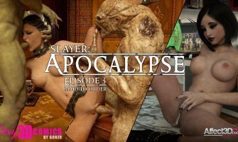 Slayer: Apocalypse Episode 3 by 3DSexyComics by Gonzo