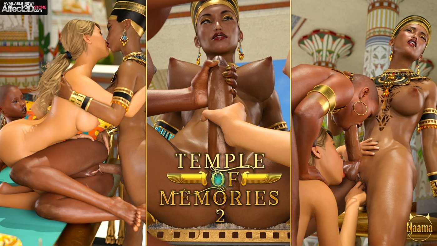 October 10 New Releases: Temple of Memories 2 and Dickgirl Paradise 3