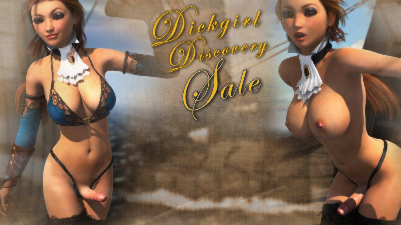 Interview With A Dickgirl Cheap dickgirl discovery sale! 25% off futanari - affect3d