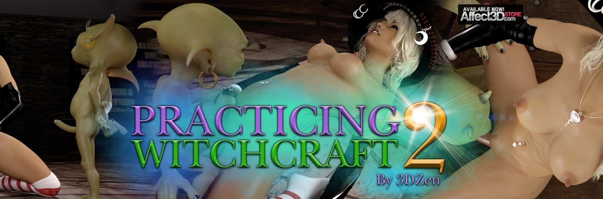 Practicing Witchcraft 2 by 3DZen