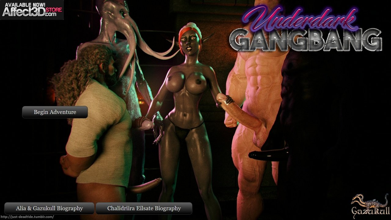 Gazukull's Underdark Gangbang — Now Available!