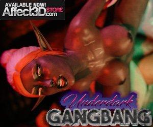 Underdark Gangbang by Gazukull