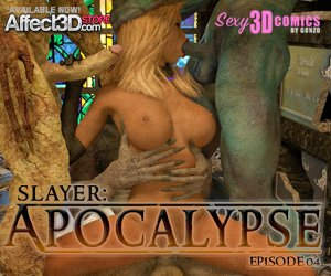Slayer: Apocalypse 4 by Sexy3DComics by Gonzo product image