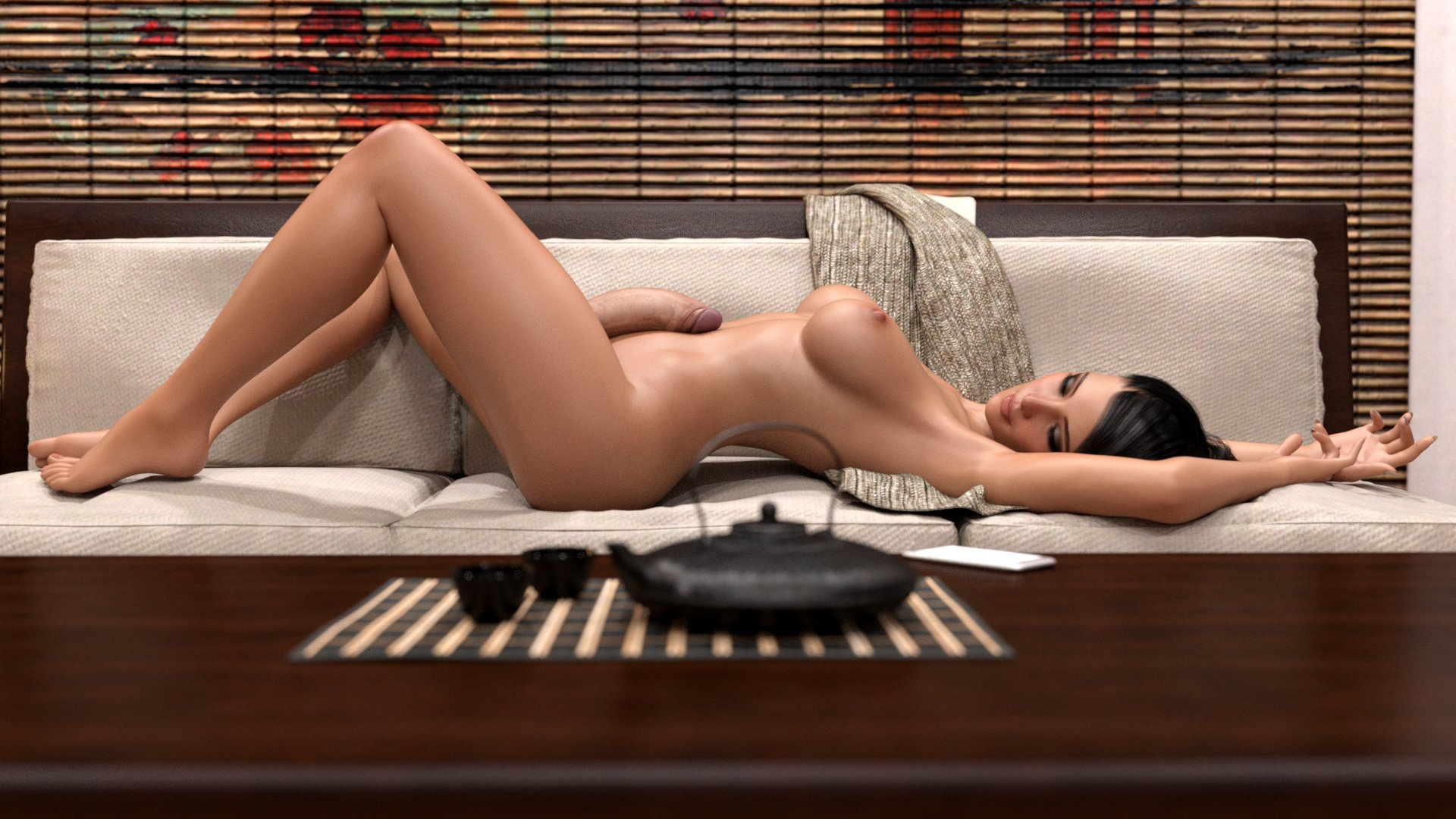 Interactive nude girl