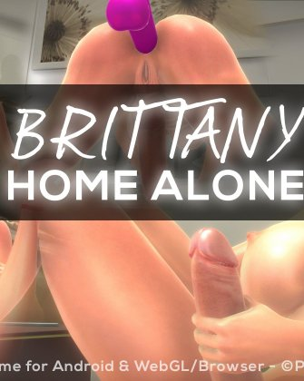Brittany Home Alone Update