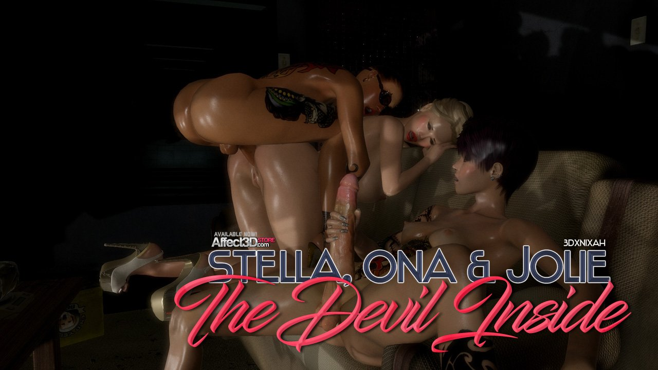 Stella, Ona, & Jolie – The Devil Inside! Watch the trailer now!