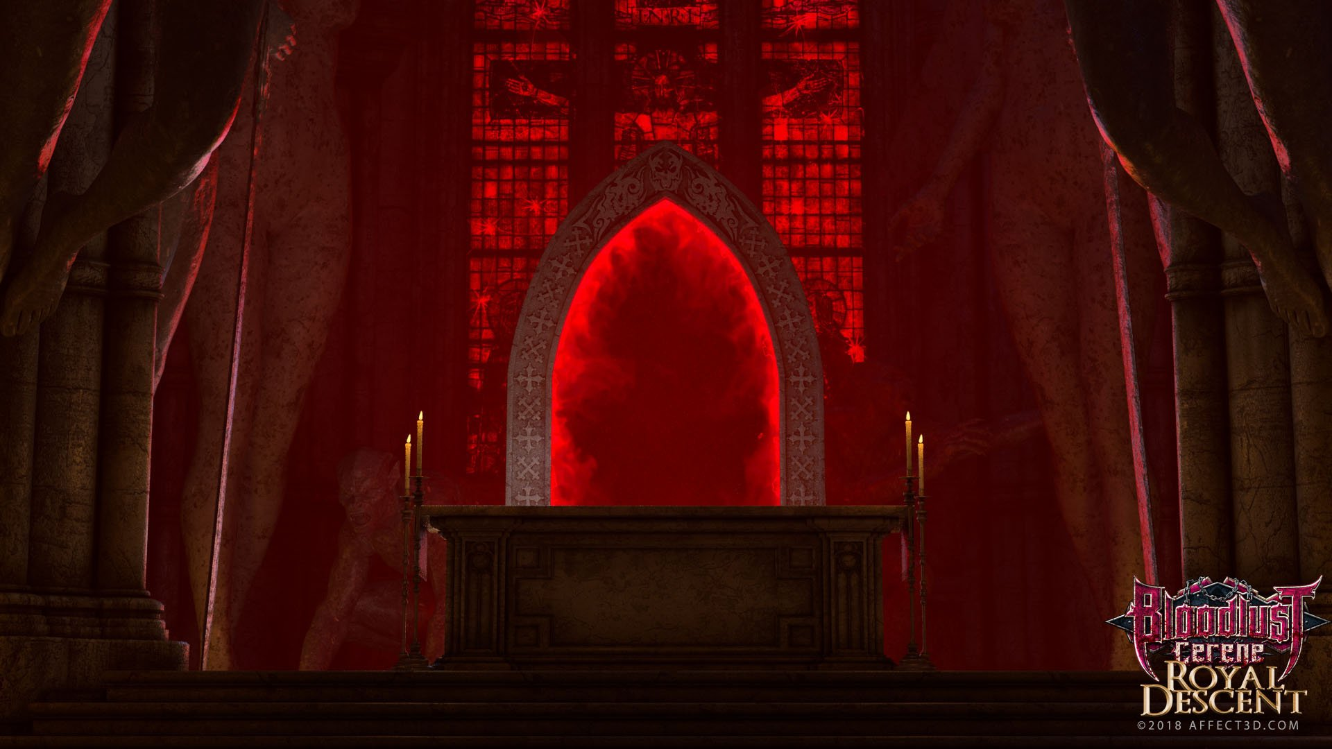 The portal and the altar of Bloodlust: Cerene - Royal Descent