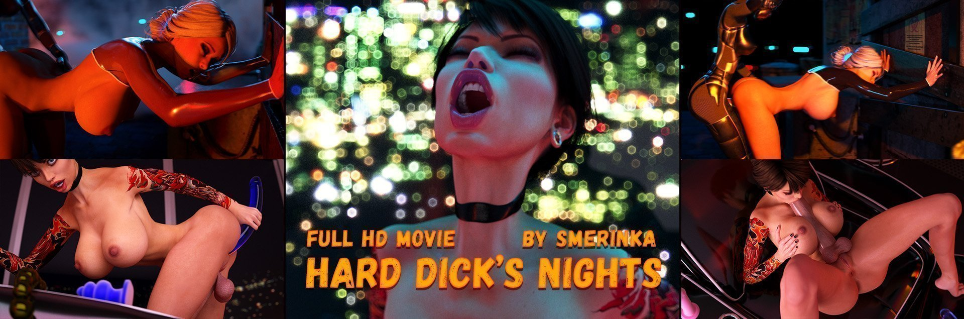 Smerinka's animated Hard Dick's Nights