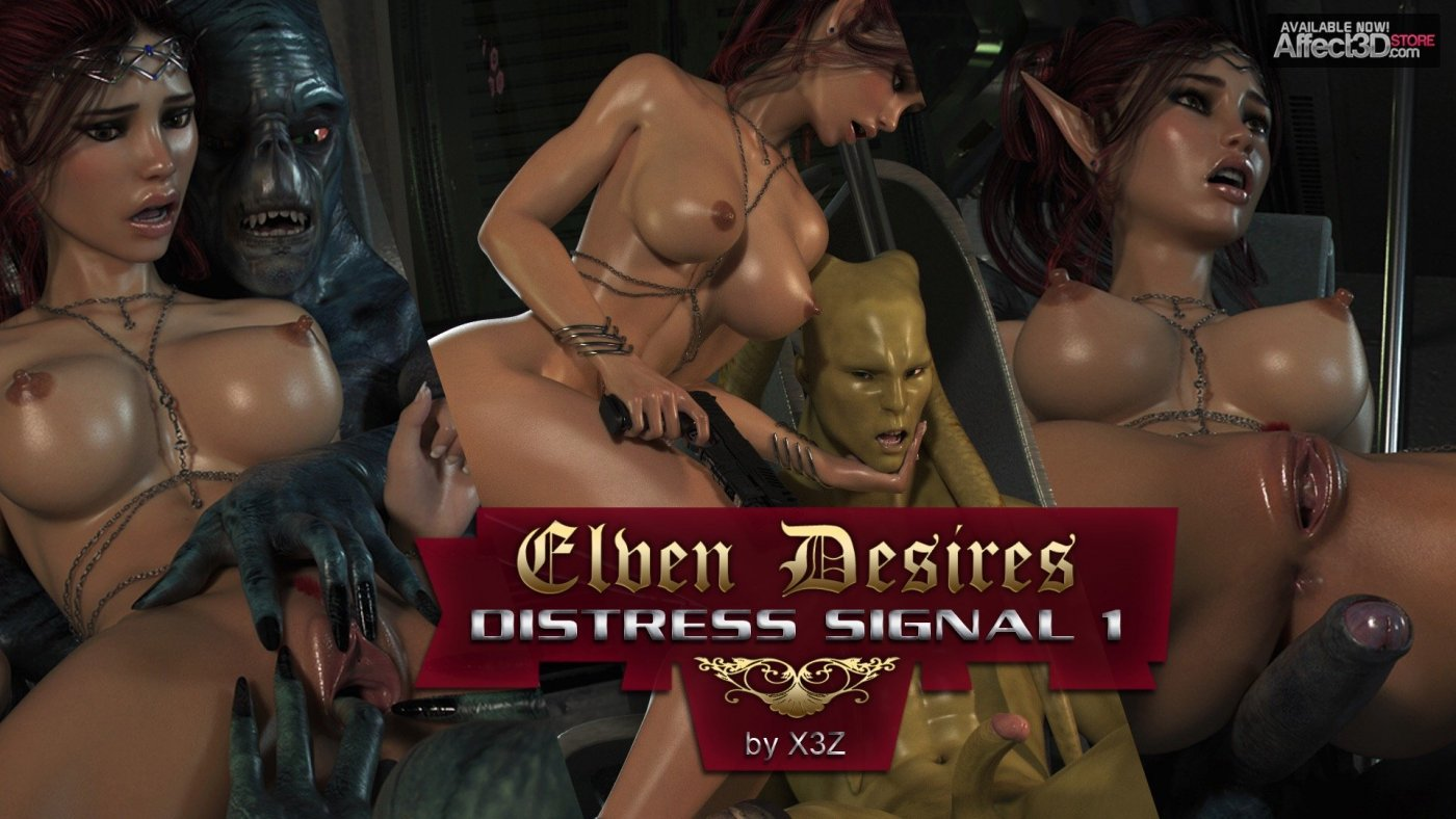Elven Desires: Distress Signal 1 – Available Now!
