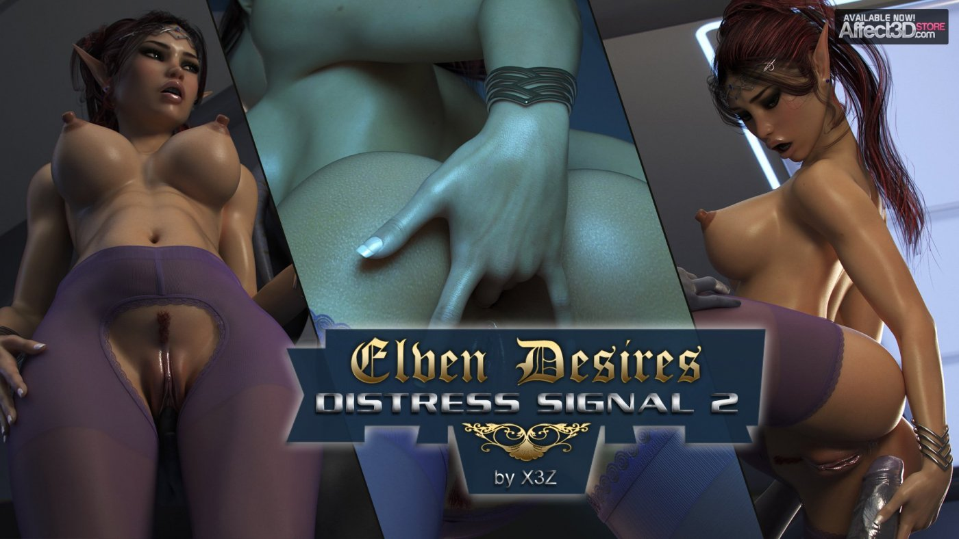 Elven Desires: Distress Signal 2 by X3Z!