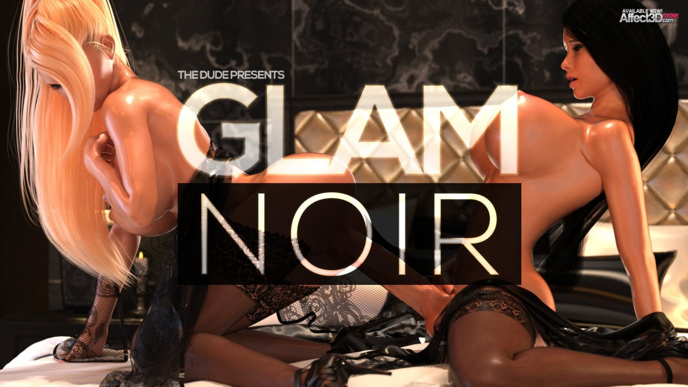 New from The Dude: Glam Noir and Mari's Lingerie Obsession Bundle!
