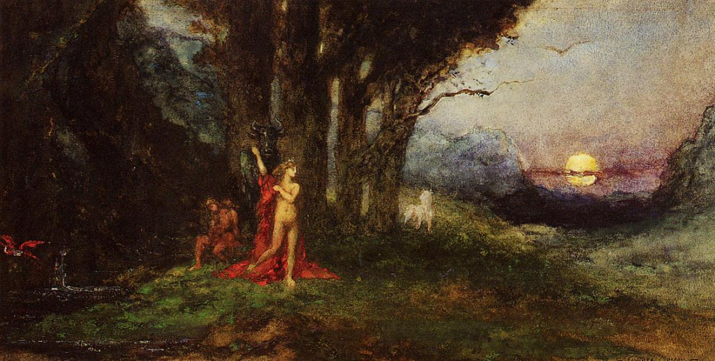 Pasiphae and the Bull, c.1876 - 1880 - Gustave Moreau