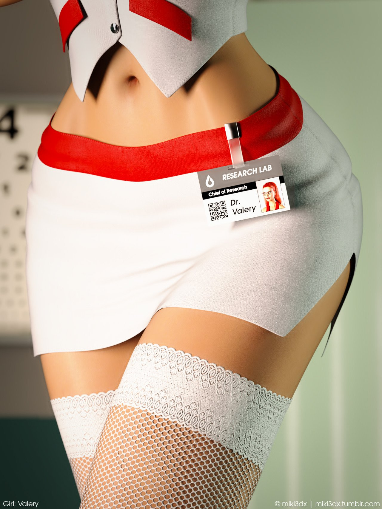 My Favorite Uniform in 3DX: Naughty Nurse