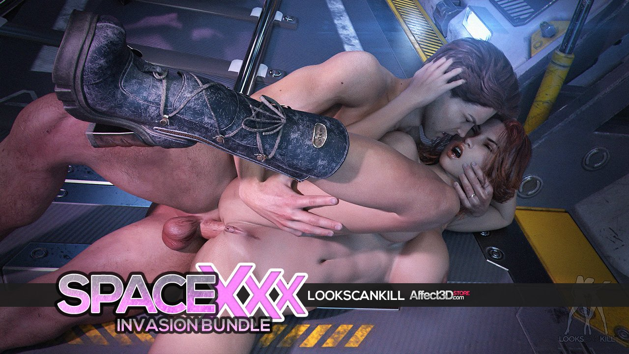 New Release! Looks Can Kill's Space XXX Invasion Bundle is a sexy, sci-fi 3DX adventure!