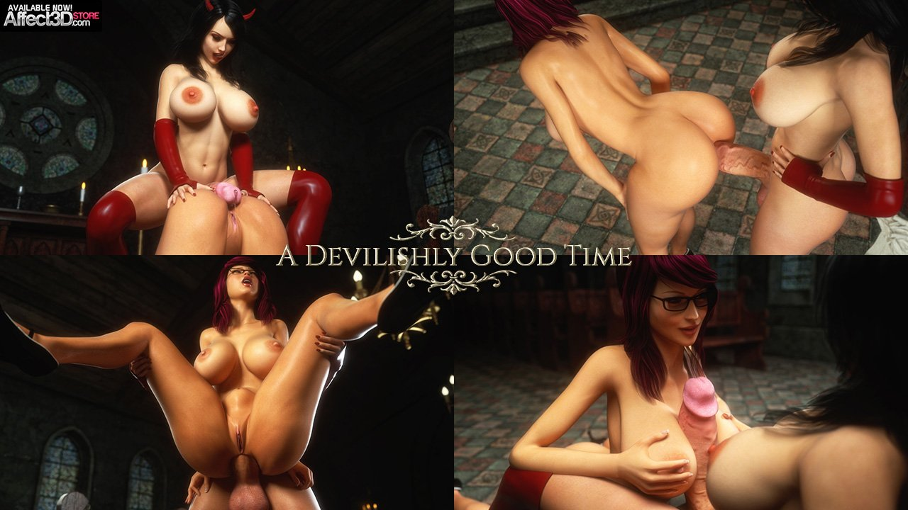 Supro's A Devilishly Good Time features succubus sex and deviant angels