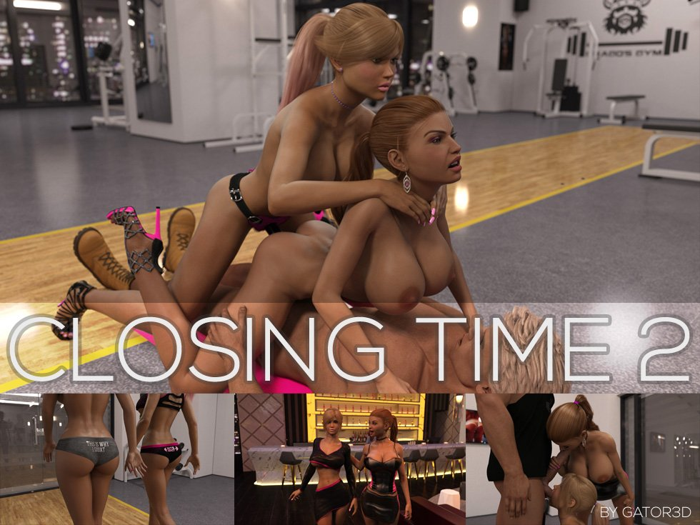 Gator3D's Closing Time 2 is after hours fun in the gym!