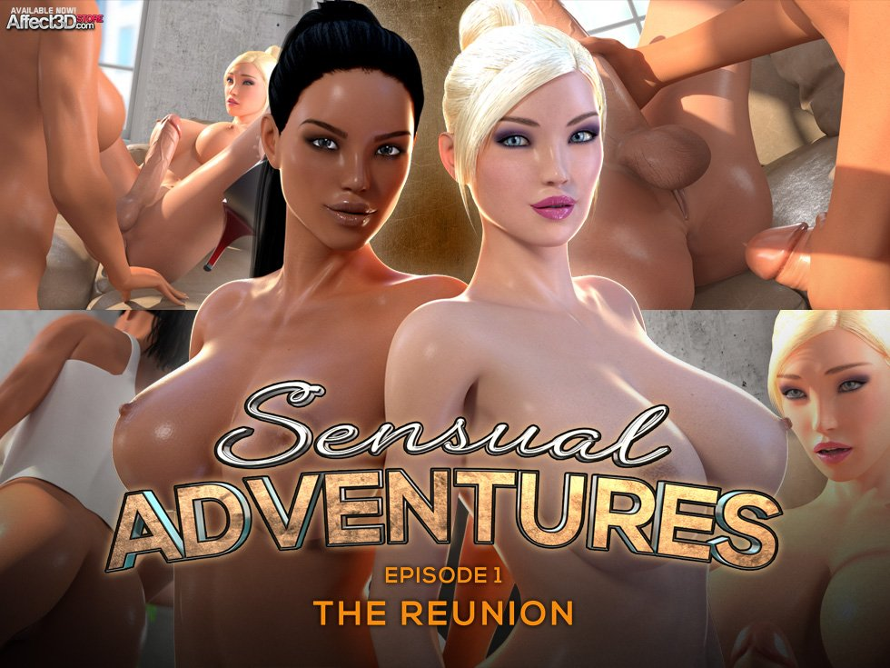 Watch Sensual Adventures: Episode 1, The Reunion now!