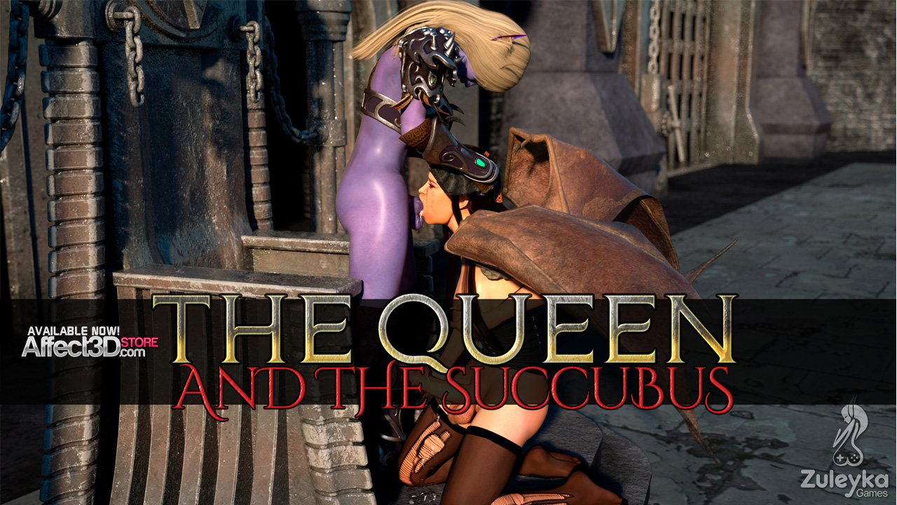 Play this interactive dickgirl sex game: The Queen and Succubus