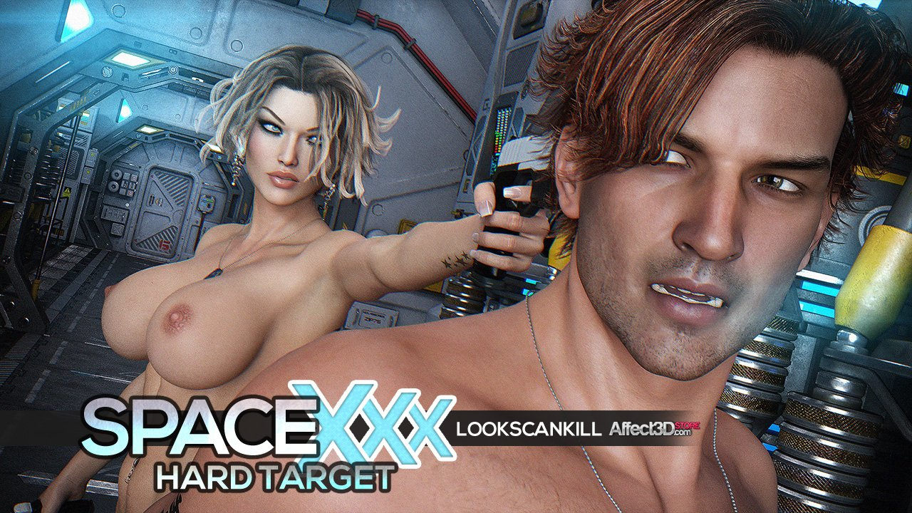 Looks Can Kill is back again with SpaceXXX Hard Target