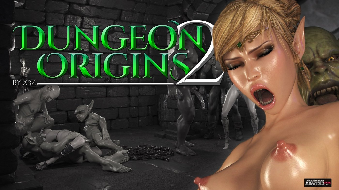 Elves, orcs, and group sex await in X3Z's Dungeon Origins 2!