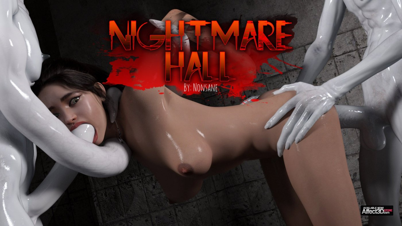 Nightmare Hall is Nonsane's Latest 3DX Erotic Horror