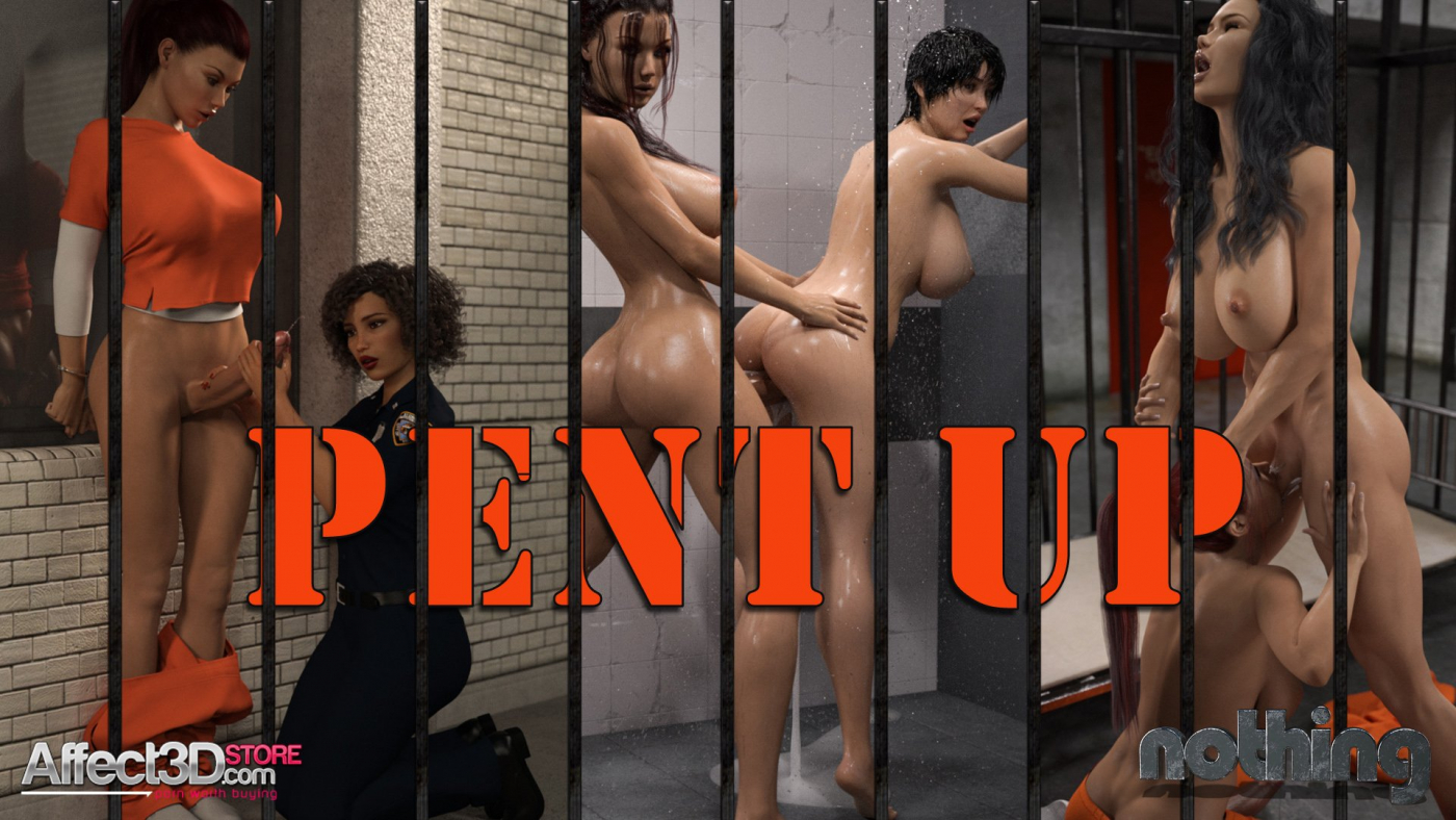 Futanari Prison Fun with Nothing's Pent Up!