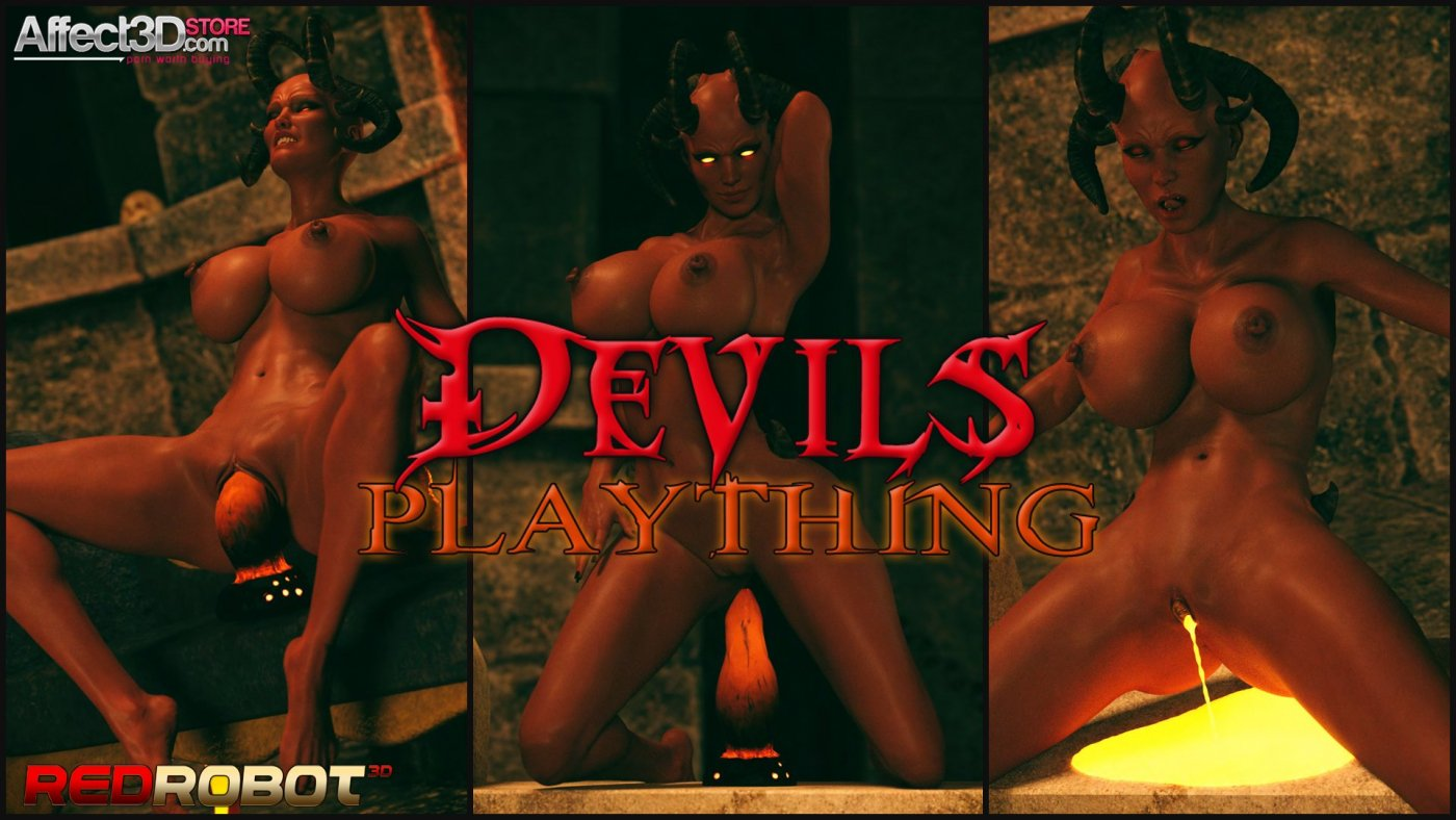 Lonely Fuck Toys and Abandoned Altars in The Devil's Plaything by RedRobot3D