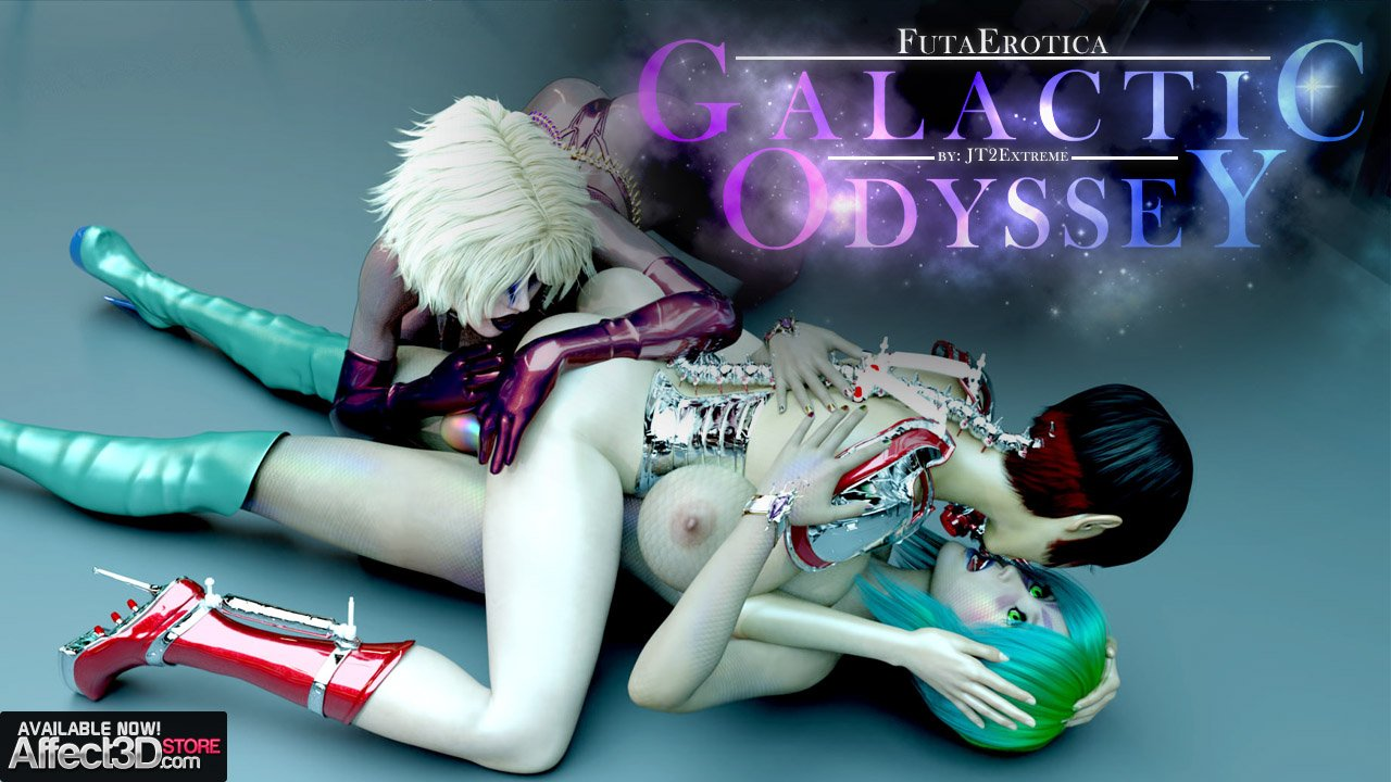 Futaerotica – Galactic Odyssey is JT2XTREME's New Sci-fi Futa Animation – Watch the Trailer!