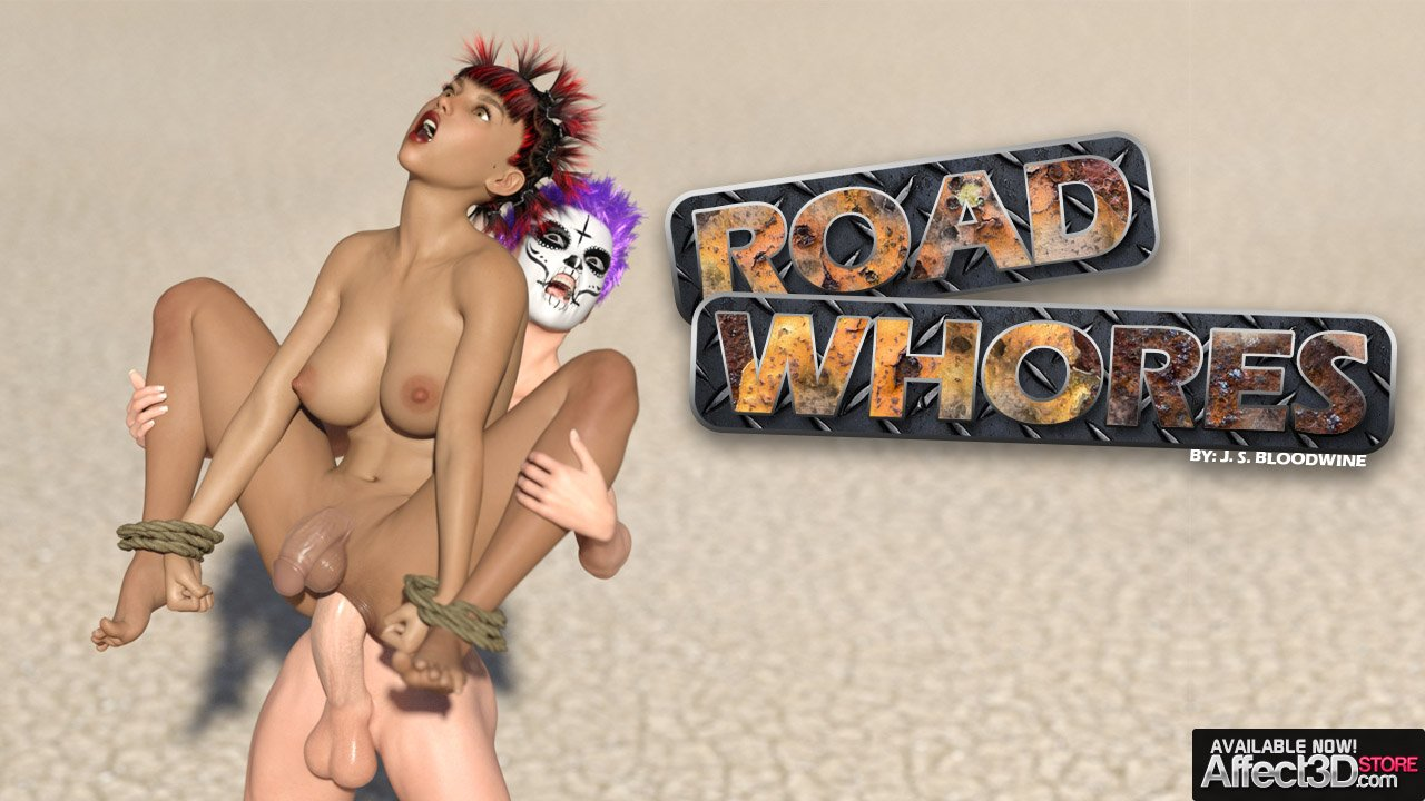 Fuck, Die, and Fuck Again in JS Bloodwine's Road Whores
