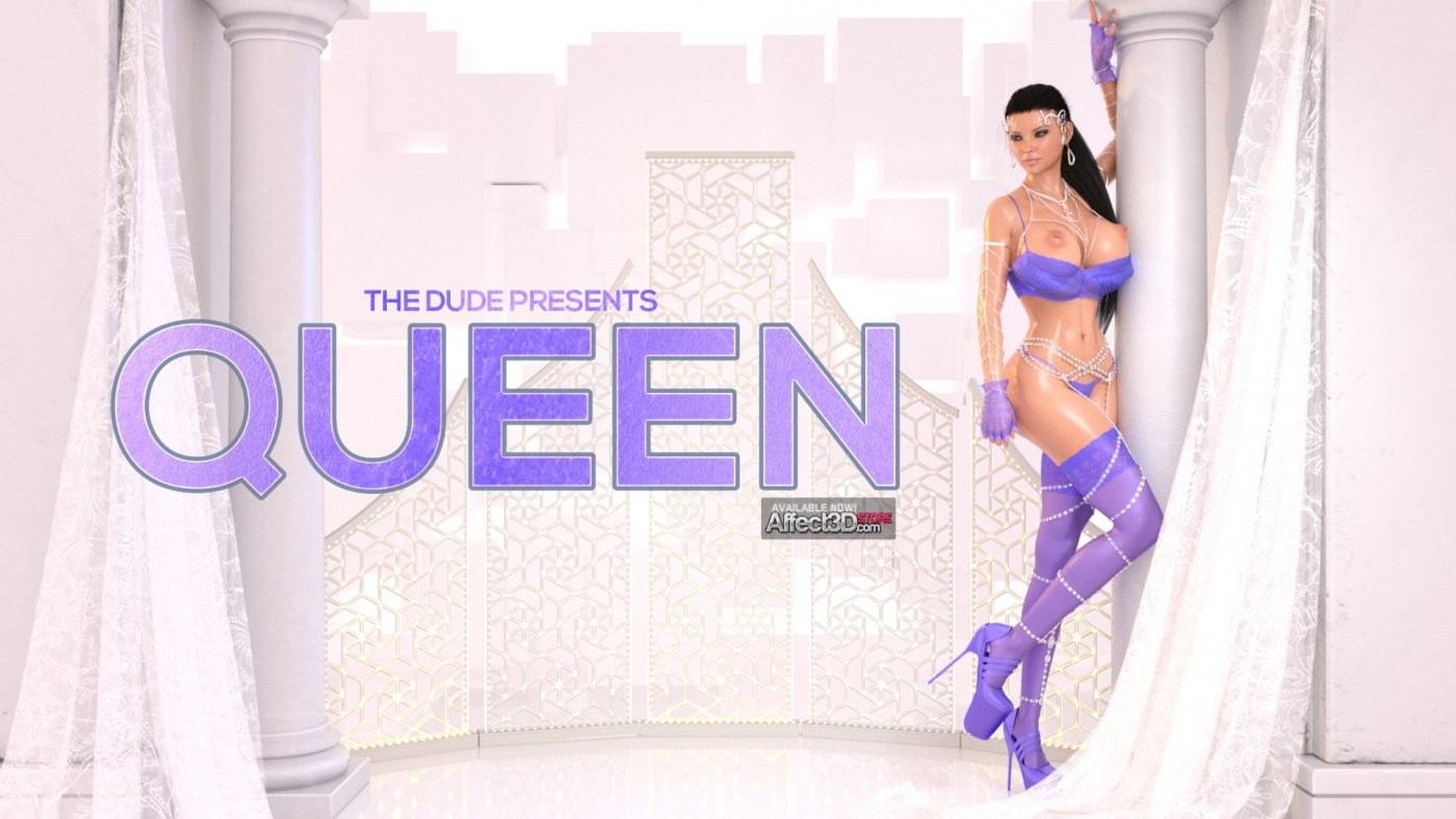 Queen – Bow Down to Dickgirl Opulence in TheDude's New Release
