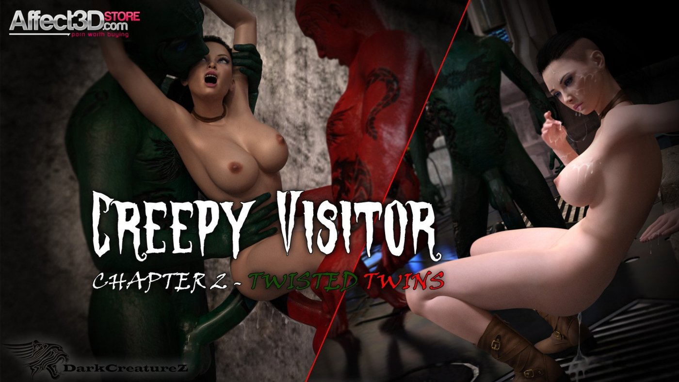 Creepy Visitor Episode 2: Twisted Twins! by DarkCreaturez