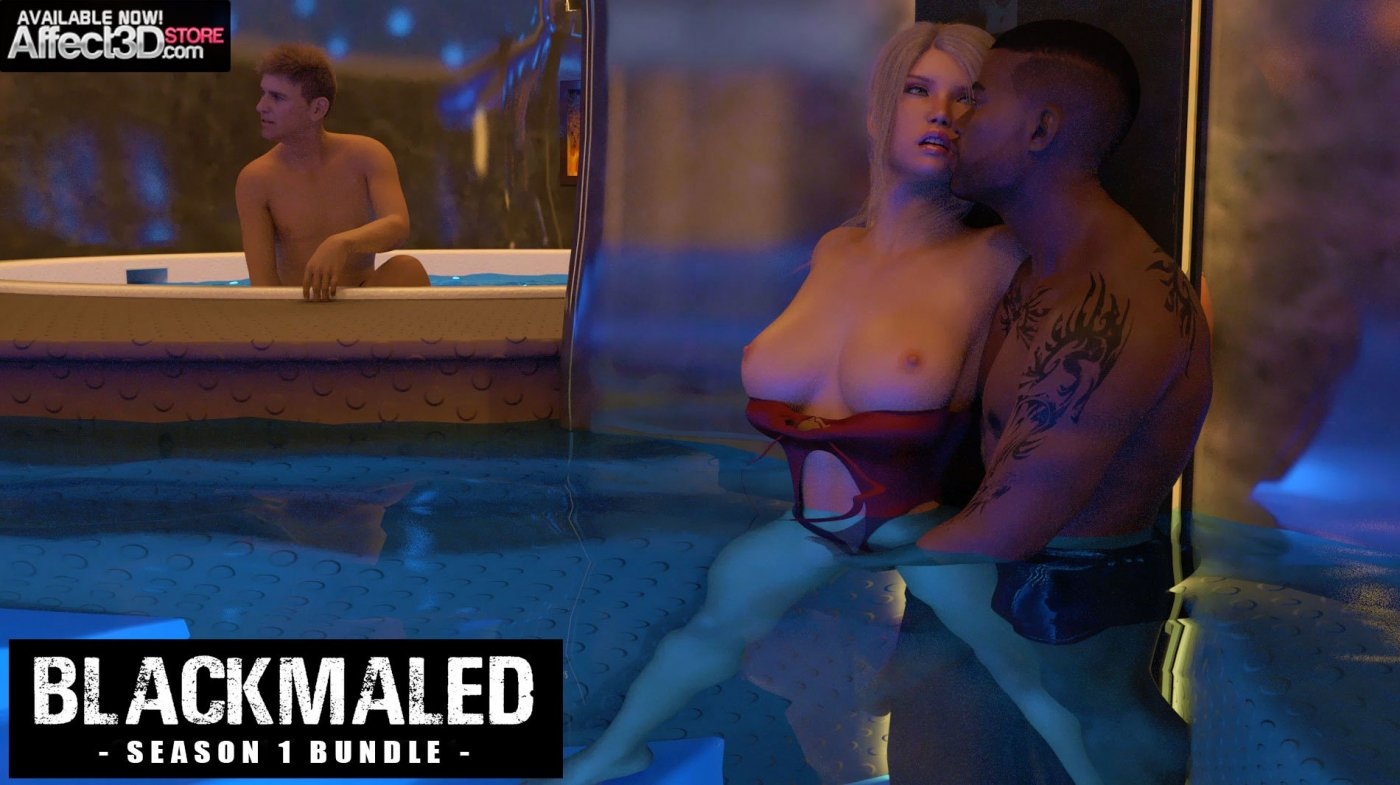 Blackmale Gets BUNDLED – Full Set from Sexy3DComics