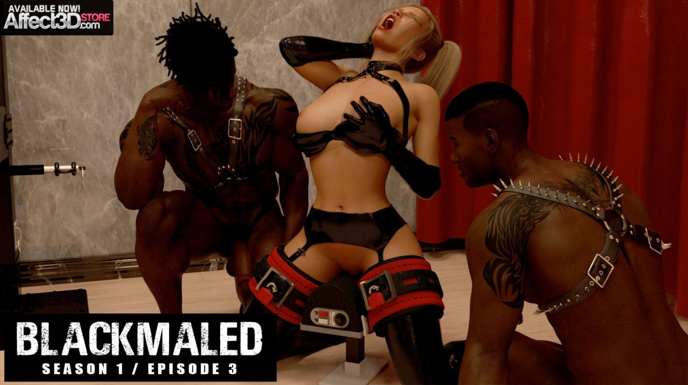 New Release from Sexy3DComics! Blackmaled Series 1 Episode 3