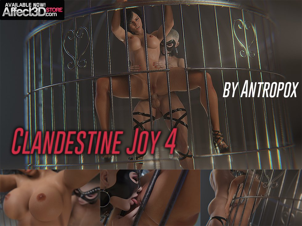 Clandestine Joy 4 – More Choking, More Fucking! by Antropox