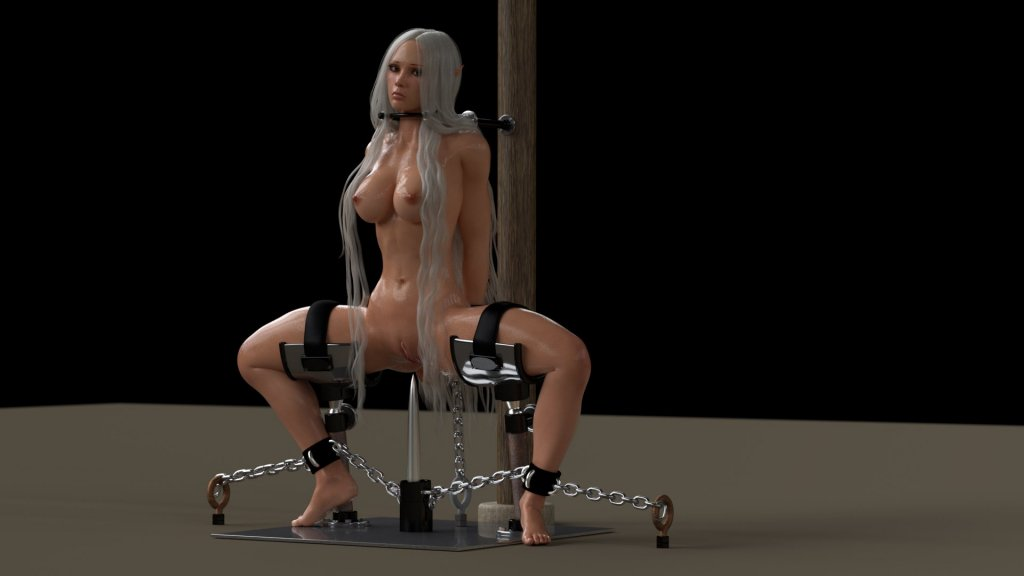 Bondage'd Gal from erotic3dx.com/