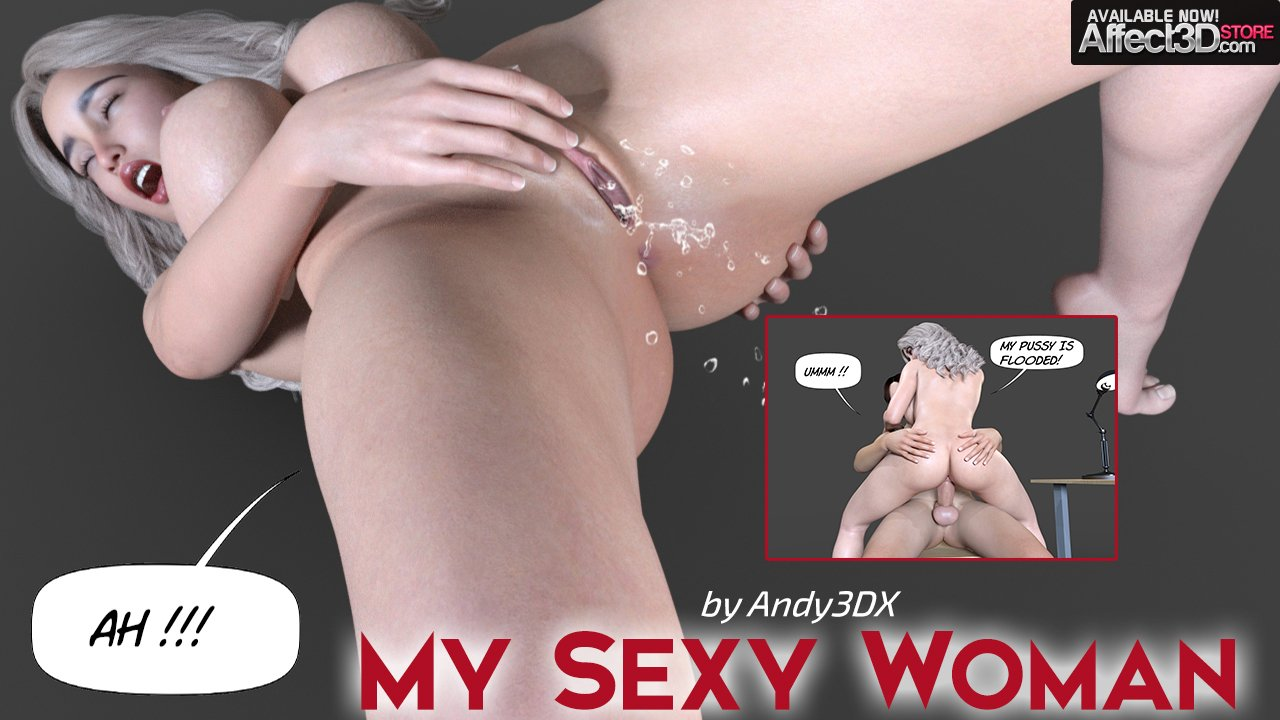 Fantasy Becomes Reality in Andy3DX's My Sexy Woman