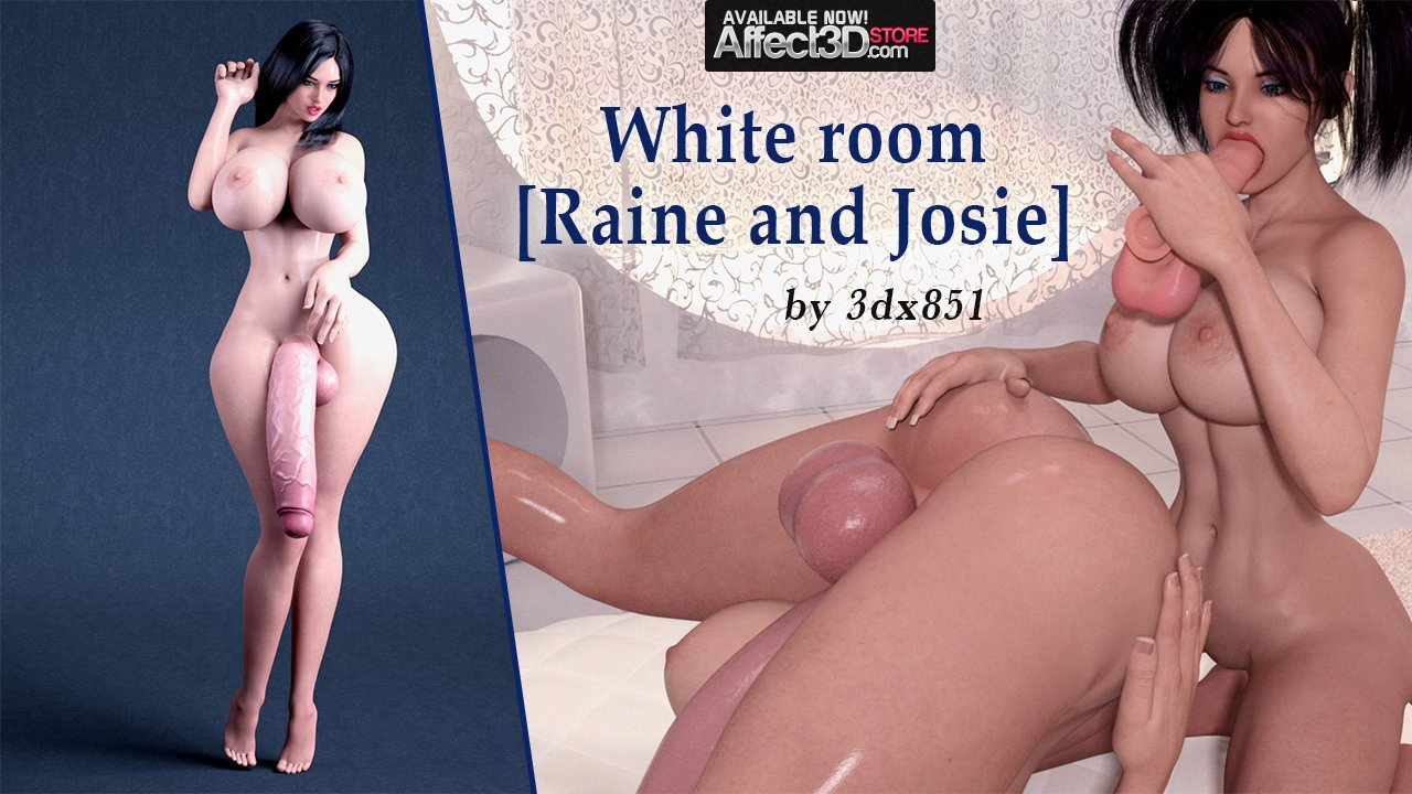 White Room – Lots of Cum, Lots of Dick! by 3dx851