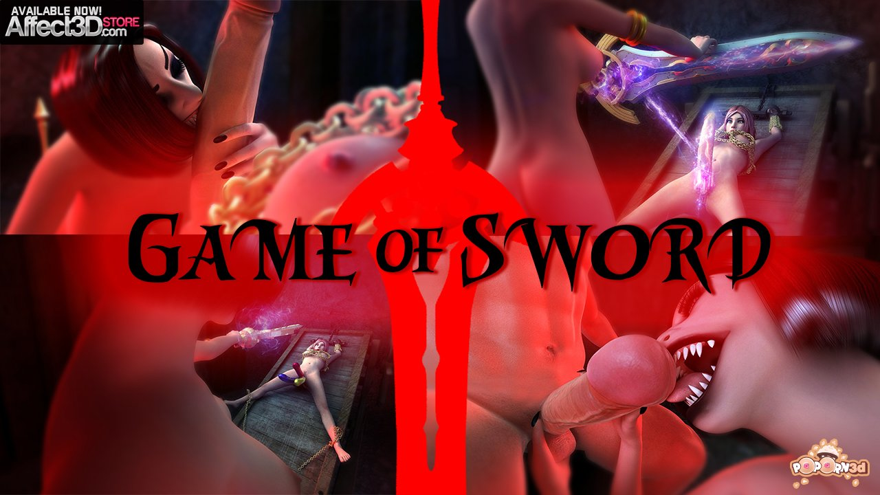 Game of Sword – Vampire Sex and Magical Fucking, by Poporn3D