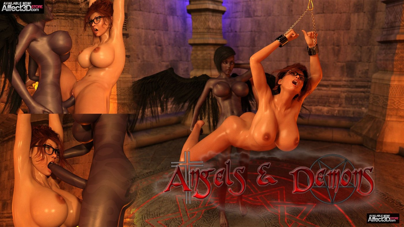Futanari Angels & Demons in this New Animation from Olympus!